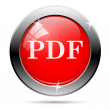 Pdf icon — Stockvectorbeeld