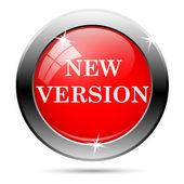 New version icon — Stock Vector