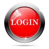 Ícone de login — Vetor de Stock