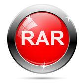 Rar icon — Stock Vector