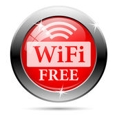 Free wifi icon — Stock Photo