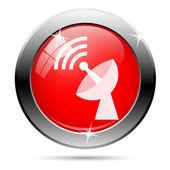 Ikona anteny wifi — Zdjęcie stockowe