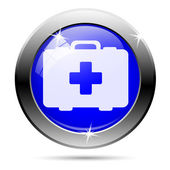 Medical bag icon — Stock Photo