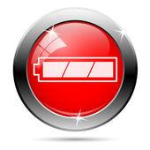 Plně nabitá baterie ikona — Stock fotografie