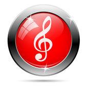 Music note icon — ストック写真