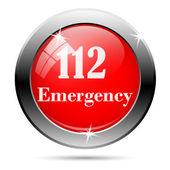 112 icon — Stock Photo