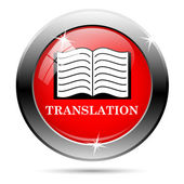 Translation icon — Stock Photo