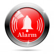 Alarm icon — Stock Photo #25796349