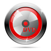 DVD icon — Stock Photo