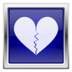 Blue shiny icon — Stock Photo #27676883