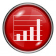 Red round glossy icon — Stock Photo #28325115