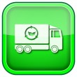 Green square shiny icon — Stock Photo #28700781