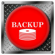 Back-up metallic icon — Stock Photo #31530227