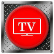 TV metallic icon — Stock Photo #31533505