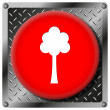 Tree metallic icon — Photo