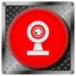 Webcam metallic icon — Stock Photo #31534113