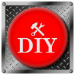 DIY metallic icon — Stock Photo #31534219