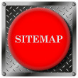 Sitemap metallic icon — Stock Photo