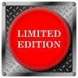 Limited edition metallic icon — Foto de Stock