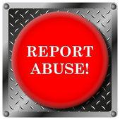 Report abuse metalik simgesi — Stok fotoğraf