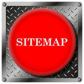 Sitemap metallic icon — Stock Photo