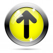 Up arrow icon — Stock Photo #31682293