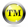 Trade mark icon — Stock Photo
