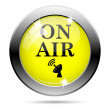 On air icon — Stock Photo #31687459