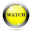 Watch icon — Stockfoto