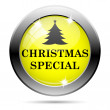 Christmas special icon — Foto de Stock