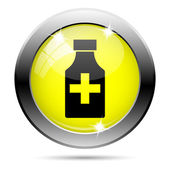 Pills bottle icon — Foto Stock