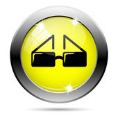 Glasses icon — Stock Photo