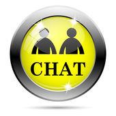 Chat icon — Stock Photo