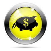 お金のアイコンを保存します。 — ストック写真