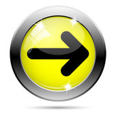 Right arrow icon — Stock Photo