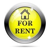 For rent icon — Stock Photo