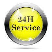 Icône du service 24h — Photo