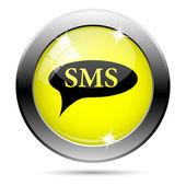 Sms bubbla-ikonen — Stockfoto