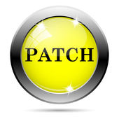 Patch icon — Stock Photo