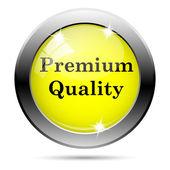 Prémiové kvality ikona — Stock fotografie