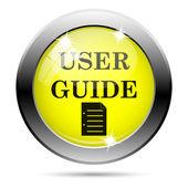 Icono de la guía de usuario — Foto de Stock