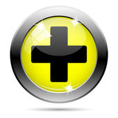Medical cross icon — Foto de Stock