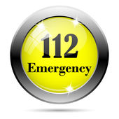 112 Emergency icon — Stock Photo
