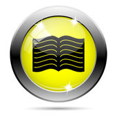 Book icon — Foto de Stock
