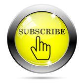 Subscreva o ícone — Foto Stock