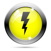 Lightning icon — Foto Stock
