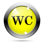 WC icon — Stock Photo
