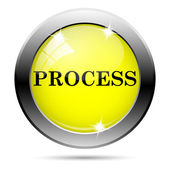 Process icon — Foto de Stock