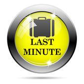 Last minute icon — Foto de Stock