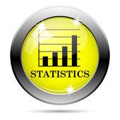 Icono de estadísticas — Foto de Stock